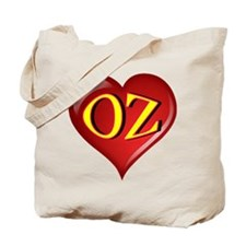 The Great OZ Heart Tote Bag