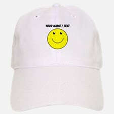 Custom Yellow Smiley Face Baseball Baseball Baseball Cap
