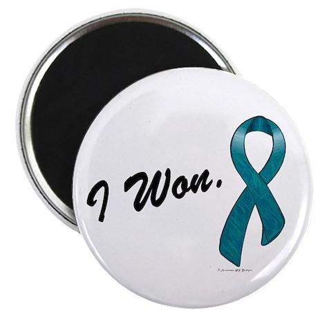 I Won Ovarian Cancer Survivor Magnet