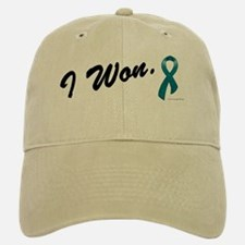 I Won Ovarian Cancer Survivor Baseball Baseball Cap