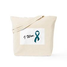 I Won Ovarian Cancer Survivor Tote Bag