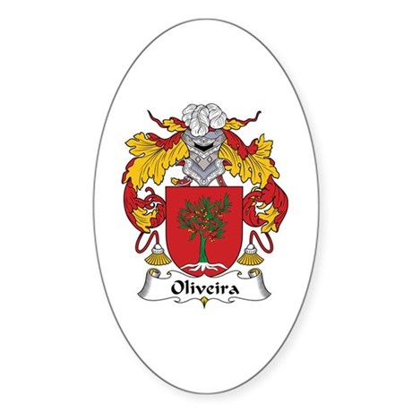 Oliveira Oval Sticker