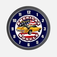 American Muscle - GTO 2 Wall Clock