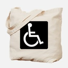Handicapped Sign Tote Bag