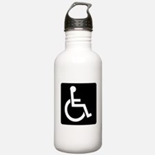 Handicapped Sign Water Bottle