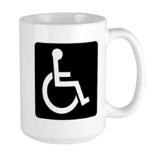 Handicapped Sign Mugs