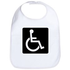 Handicapped Sign Bib