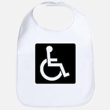 Handicapped Sign Bib