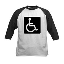 Handicapped Sign Baseball Jersey
