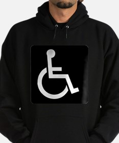 Handicapped Sign Hoodie