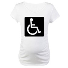 Handicapped Sign Shirt