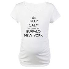 Keep calm we live in Buffalo New Shirt