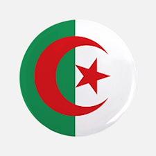 "Algerian flag 3.5"" Button"