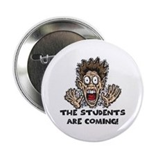 """Funny Teacher Gifts 2.25"""" Button"""