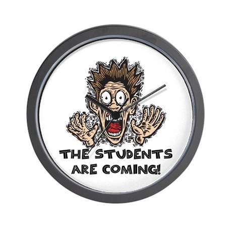 Funny Teacher Gifts Wall Clock