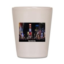 Times Square New York City Pro photo Shot Glass