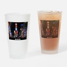Times Square New York City Pro phot Drinking Glass