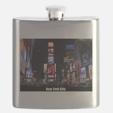 Times Square New York City Pro photo Flask