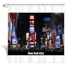Times Square New York City Pro phot Shower Curtain