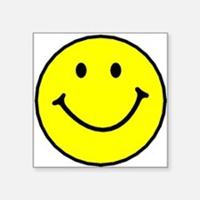 Yellow Smiley Face Sticker