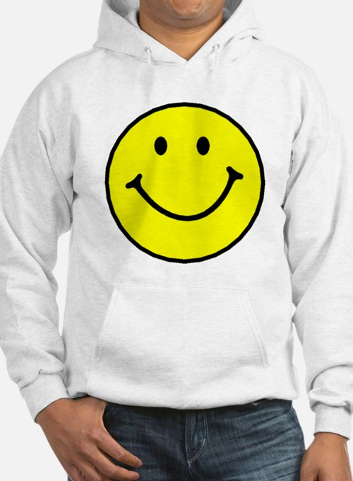 Yellow Smiley Face Hoodie