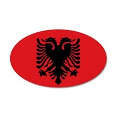 Albanian flag Wall Sticker