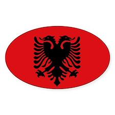 Albanian flag Decal