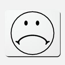 Sad Face Mousepad