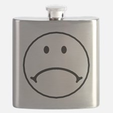 Sad Face Flask