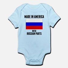 Made In America With Russian Parts Body Suit