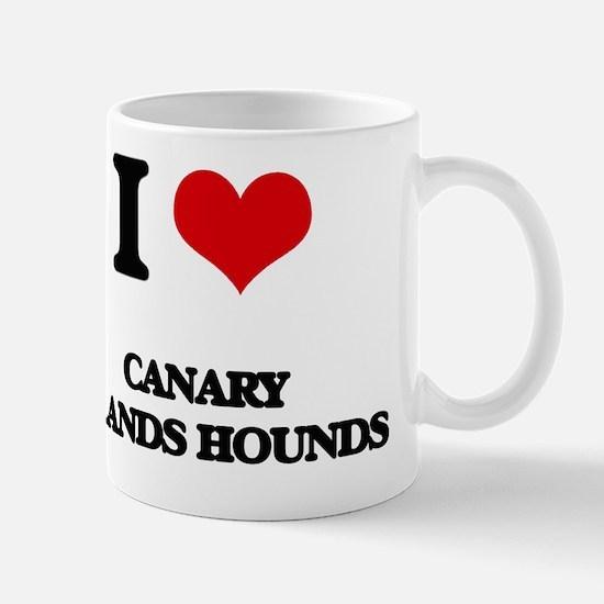 I love Canary Islands Hounds  Mug