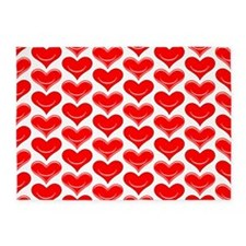 Two Hearts 5'x7'Area Rug