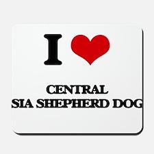 I love Central Asia Shepherd Dogs Mousepad