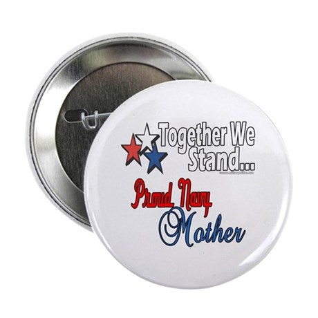 """Proud Navy Mother 2.25"""" Button (10 pack)"""