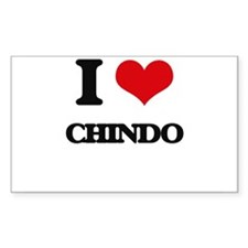 I love Chindo Decal