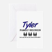 Tyler Family Reunion Greeting Cards (Pk of 10)