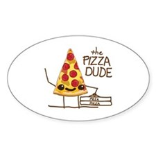 The Pizza Dude Decal