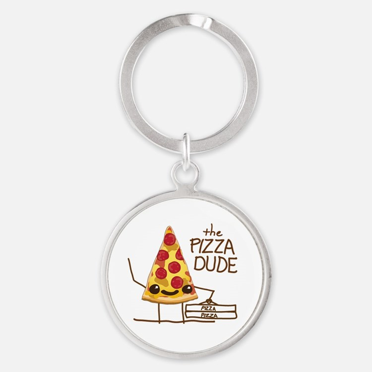 The Pizza Dude Keychains