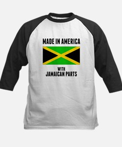Made In America With Jamaican Parts Baseball Jerse
