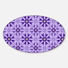 Quilted Violet Decal