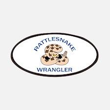 RATTLESNAKE WRANGLER Patches