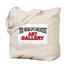 """""""The World's Greatest Art Gallery"""" Tote Bag"""