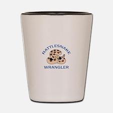 RATTLESNAKE WRANGLER Shot Glass
