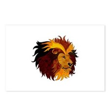 LIONS HEAD Postcards (Package of 8)