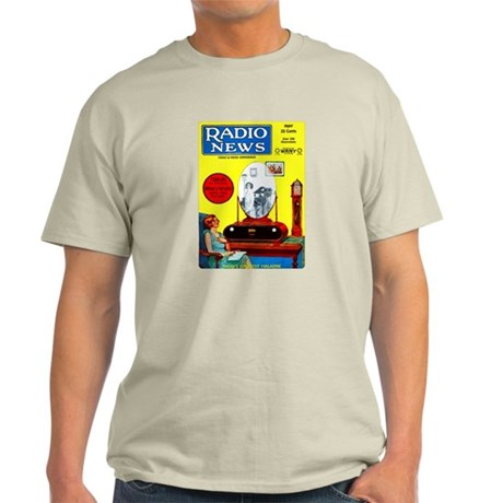 Radio News Light T-Shirt