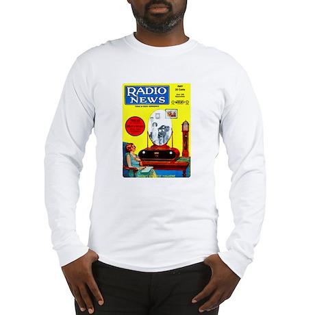 Radio News Long Sleeve T-Shirt