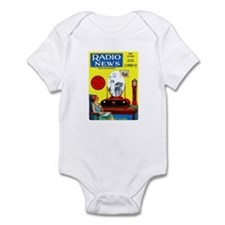 Radio News Infant Bodysuit