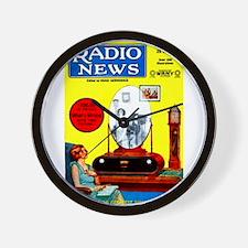Radio News Wall Clock