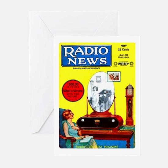Radio News Greeting Cards (Pk of 10)