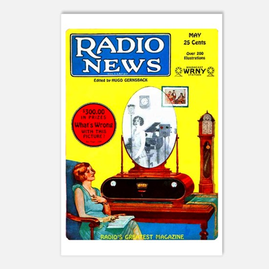 Radio News Postcards (Package of 8)